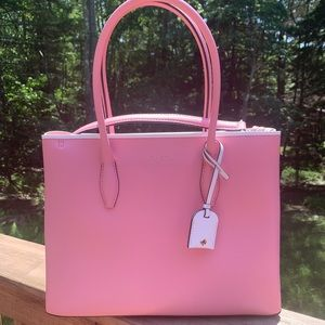 Authentic Kate Spade leather 2 faced satchel/Crosb